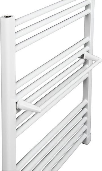 Handtuchhalter 600 mm Farbe weiß RAL 9016