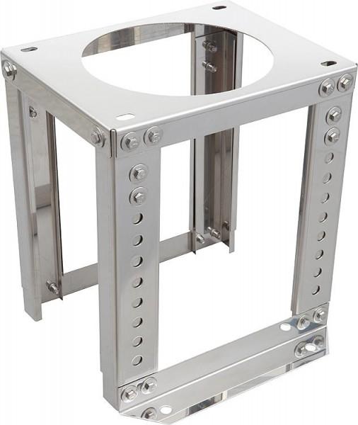 Doppelwandiges Abgassystem Schornsteintragestütze DN 113 höhenverstellbar