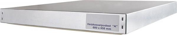 Heizkesselpodest Größe -A- 600 x 650 x 70 mm