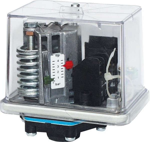 Druckschalter mit Perbunan-Membrane fürÖl, Wasser u. Luft Typ FF4-4DAH / max.Betriebsdruck 24 bar